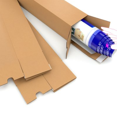 square tubes with selfadhesive stripes
