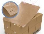 Kraftpapier voorzien van een coating als bescherming tegen vuil en vocht