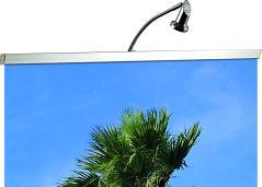Coala Rollup Halogen Spotlight - spot gericht op een rollup