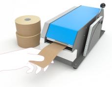 Gegomde krafttape - papieren plakband met permanente sluiting