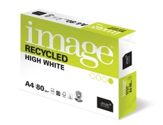 Papier de bureau recyclé - Image Recycled High White Blue Angel