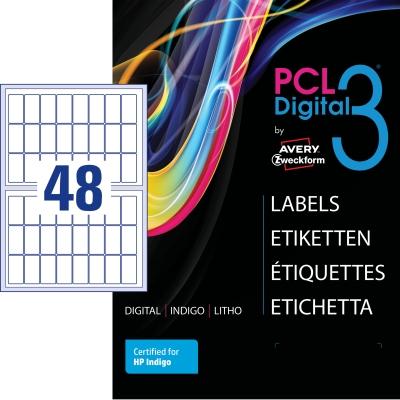 PCL 3 Etiketten